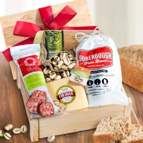 AC2010, Meat, Cheese and Gourmet Variety Gift Crate