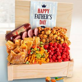 AC2037, Father's Day Meat & Snacks Gift Crate