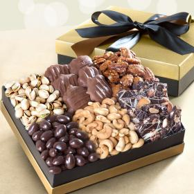 AG4103, Nuts & Chocolate Indulgence Gift Box