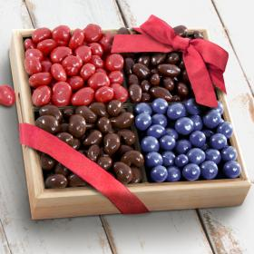 AP8015, Chocolate Covered Bliss Fruit and Nuts Tray