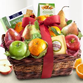 AP8019, Cheese and Nuts Classic Fruit Basket