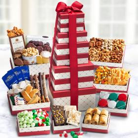 ATC0455, Holiday Cravings Company Gift Tower