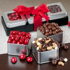 GS1002, Chocolate Indulgence Tin Trio Set
