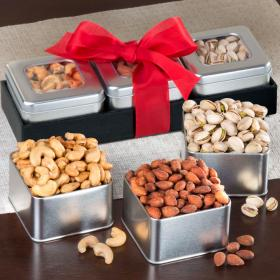 GS1003, Nut Favorites Tin Trio Set