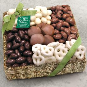 RA4011, Organic Shades of Sweet Gift Basket
