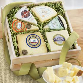 FG2004, Artisan Cheese Collection Gift Crate