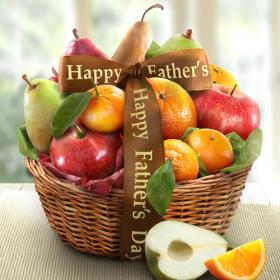 AA4103F, Father's Day Fruit Favorites Basket