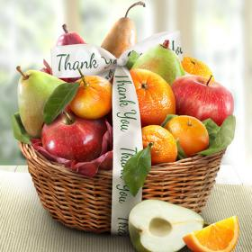 AA4103T, Thank You Fruit Favorites Basket