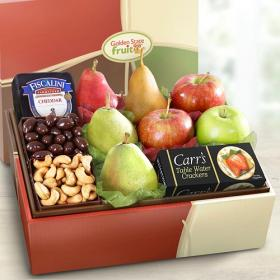 AB2017, Grande Petaluma Fruit and Cheese Gift Box