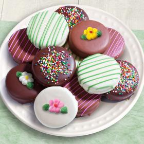 ACC1004M, 12 Spring Celebration Chocolate Covered Oreos