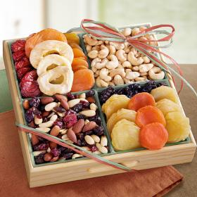 AP8020, Golden Gate Dried Fruit and Nut Tray Gift