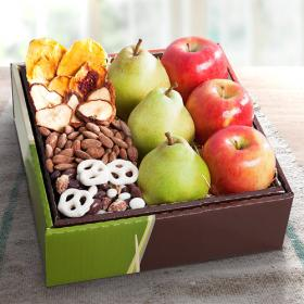 RB1009, Organic Sierra Fruit and Treats Gift Box