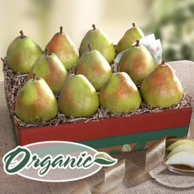 RB2007, Organic D'Anjou Pears Ultimate Fruit Gift