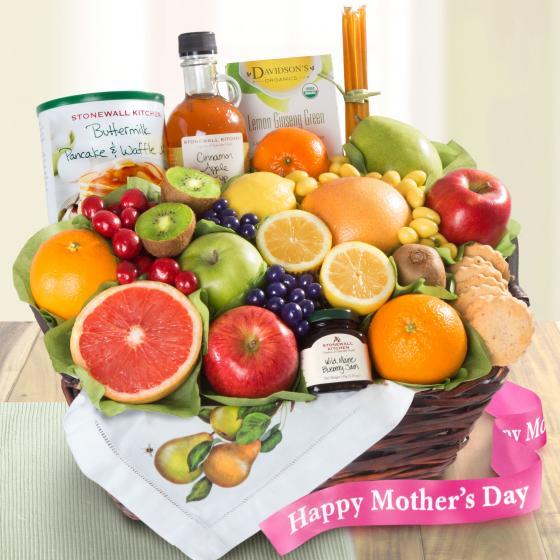 Mother's Day Breakfast In Bed Brunch Basket