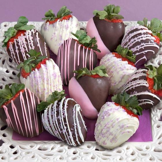 Celebration Chocolate Covered Strawberries 12 Berries