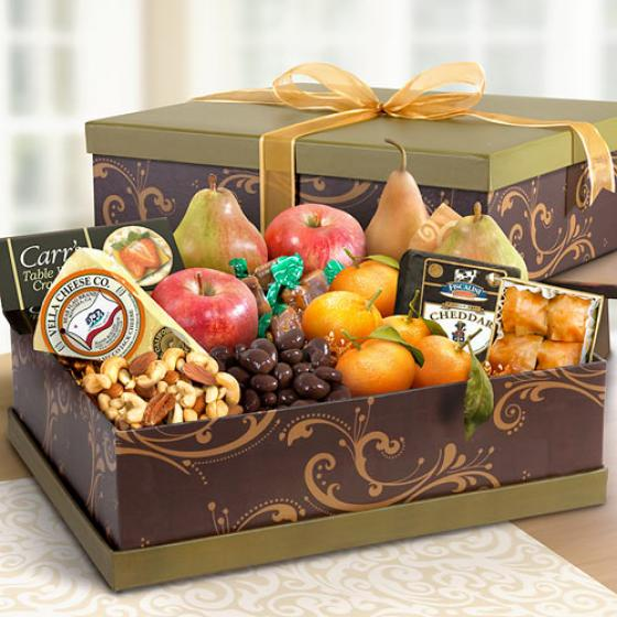 Sonoma Ultimate Fruit And Cheese Gift Box Ag3100 A