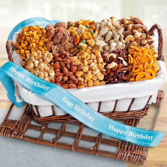 AA3012B, Happy Birthday Snack Attack Gift Basket