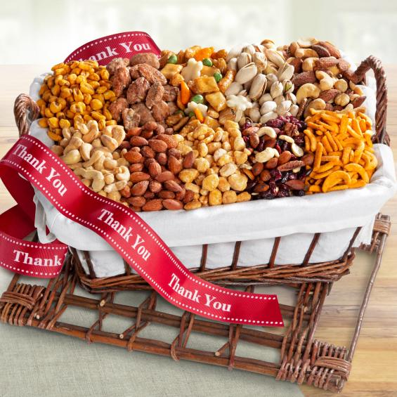 AA3012T, Thank you Snack Attack Gift Basket
