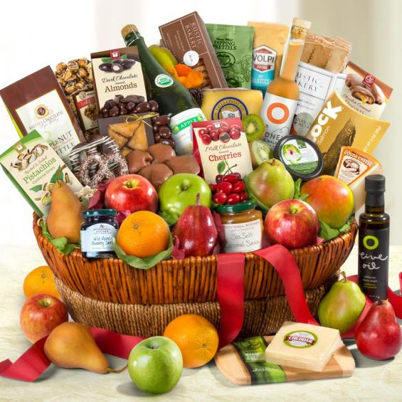AA4068, Motherlode Grand Fruit and Gourmet Gift Basket