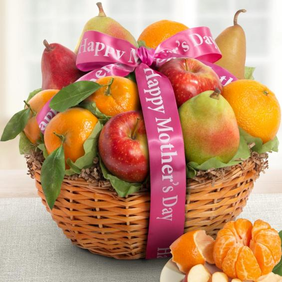 AA4103M, Happy Mothers Day Best Fruit Basket