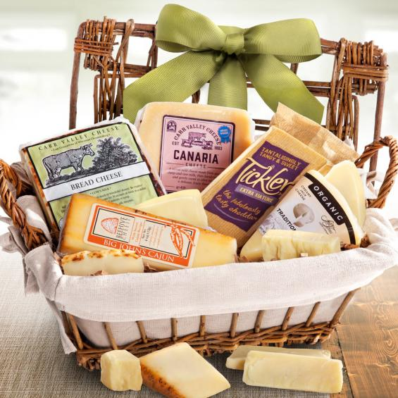 AA5030, Entertainer's Artisan Cheese Hamper Gourmet Gift Basket