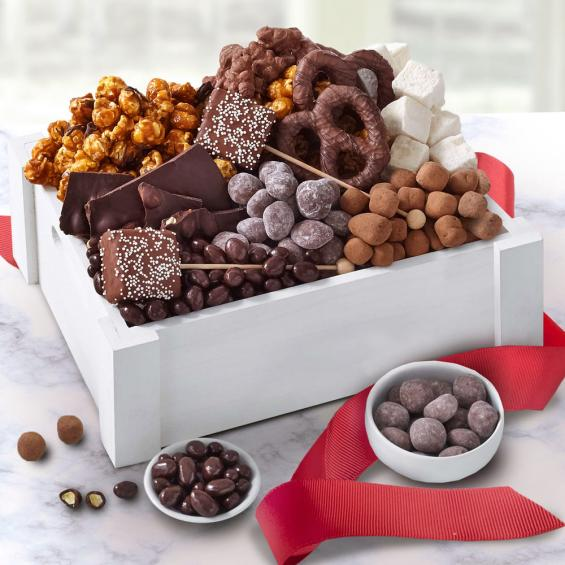 AB3015-CRATE, Chocolate Bliss Gift Crate