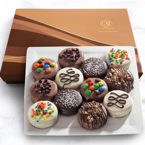 ACC1010, Deluxe Chocolate-Dipped Oreos(R) in Gift Box
