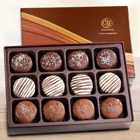 ACC1035, Artisan Chocolate Dipped Cookie Gift Box