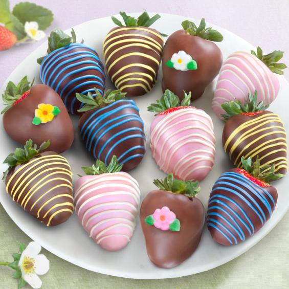 ACD2021, Joy of Summer Chocolate Covered Strawberries - 12 Berries