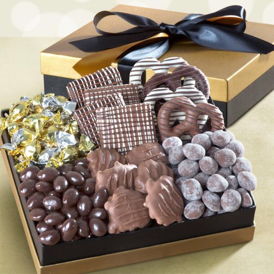 AG4101, Chocolate Indulgence Deluxe Executive Gift Box