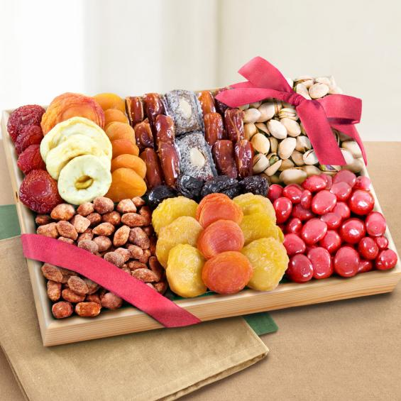 AP8018, Extravagance Dried Fruits and Nuts Tray