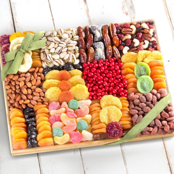 AP8047,  Summer Extravagance Ultimate Dried Fruit & Nut Tray