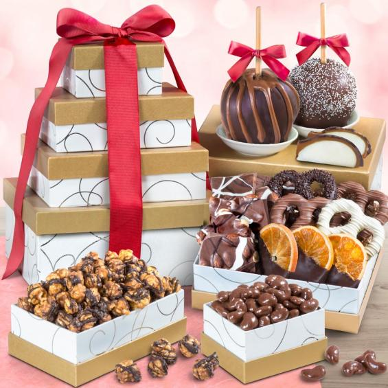 ATC0307, Chocolate Perfection Signature Gift Tower