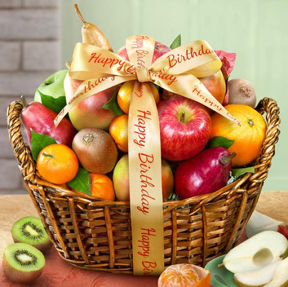 AA4000B, Happy Birthday Fruit Basket