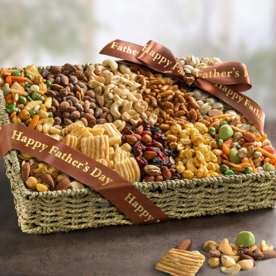 AA4006F, Fathers Day Snack Gift Basket