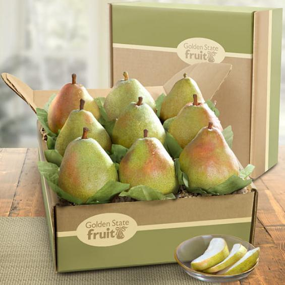 AB1006, Comice Pears Deluxe Fruit Gift
