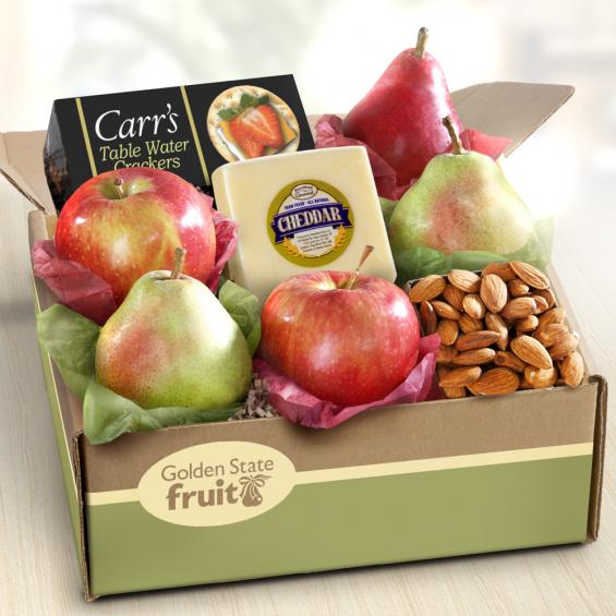 AB1017, Petaluma Fruit and Cheese Gift Box