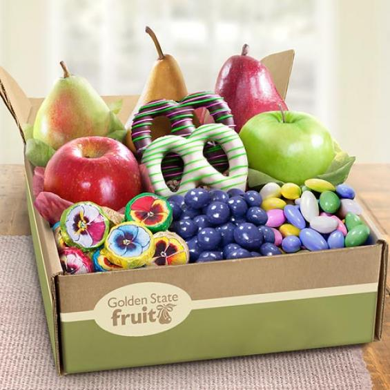 Fruit And Chocolate Gift Boxes : Springtime festival fruit and chocolate gift box ab