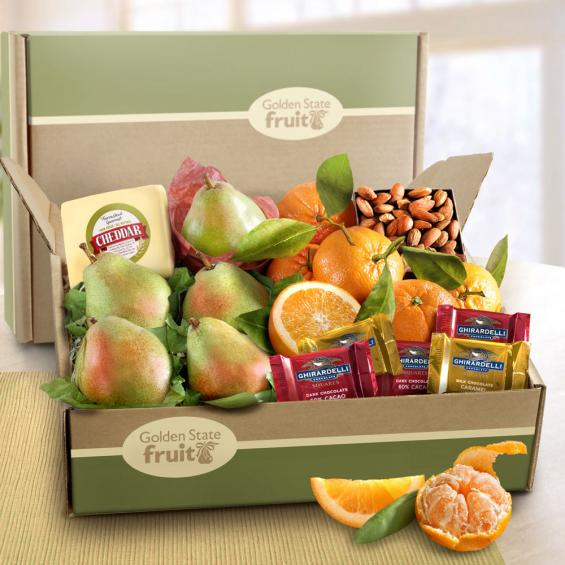 AB2022, Harvest Favorites Fruit and Gourmet Gift Box