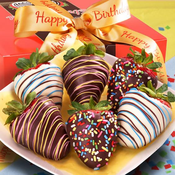 Chocolate Strawberries Gift