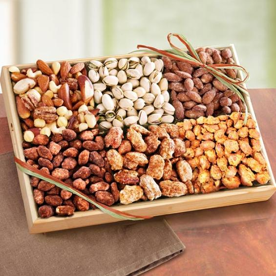 AP8014, Savory and Toffee Deluxe Nut Tray