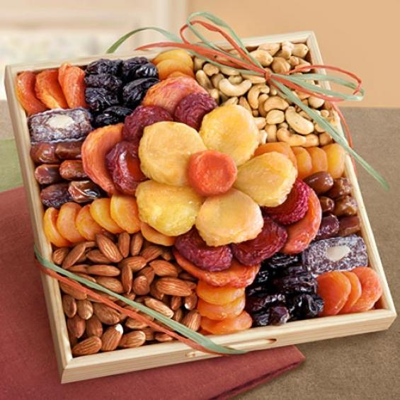 AP8017S, Flora Dried Fruit and Nut Tray