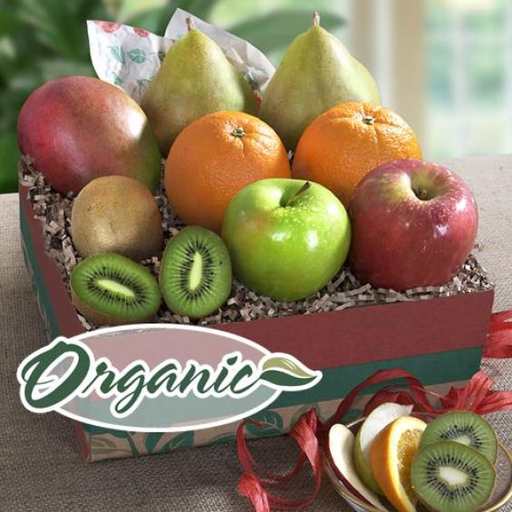 RB1002, Organic Golden State Signature Fruit Gift Collection