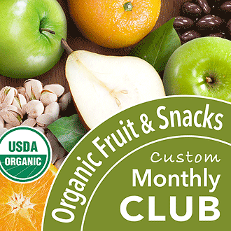 Organic Monthly Fruit and Snacks Club