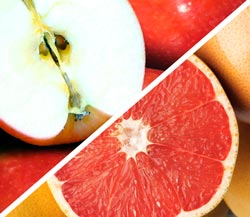 Pink Lady Apples & Ruby Red Grapefruit