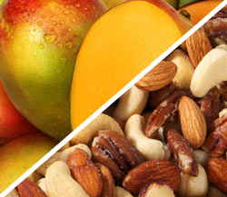 Organic Mango with Organic Mixed Nuts