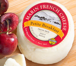 Marin French Petite Breakfast Brie & Sweet Dark Cherries