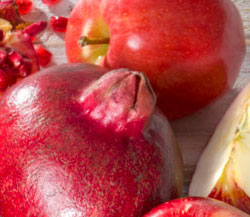 Pomegranates & Pacific Rose Apples