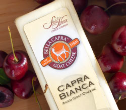 Sierra Nevada Bella Capra Firm Goat Cheese & Sweet Dark Cherries
