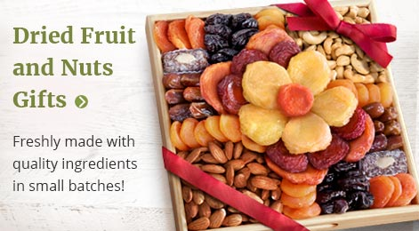Dried Fruit and Nut Gifts